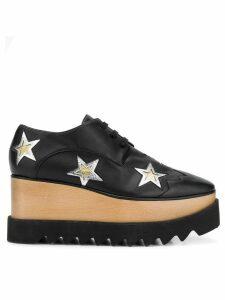 Stella McCartney star-embellished Elyse shoes - Black
