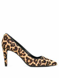 Michael Michael Kors leopard print pumps - Brown