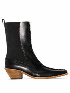 Haider Ackermann Ela 50mm ankle boots - Black