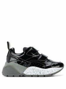 Stella McCartney Eclypse touch strap sneakers - Black