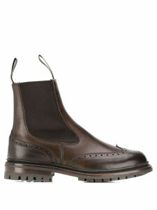 Trickers Silvia ankle boots - Brown