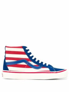 Vans ankle striped sneakers - Blue