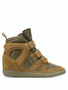 Isabel Marant Buckee wedge sneakers - Green