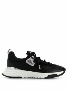 Salvatore Ferragamo low top sneakers - Black