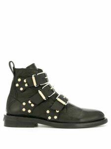 Zadig & Voltaire Laureen buckle boots - Black