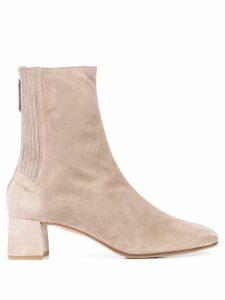 Aquazzura Saint Honore ankle boots - Grey