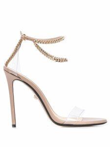 Alevì chain strap heels - Neutrals