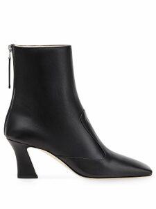 Fendi FFreedom squared-toe ankle boots - Black