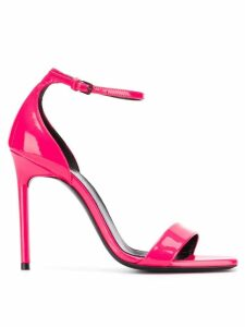 Saint Laurent Amber open toe sandals - PINK