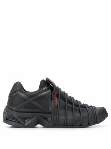 Y-3 Yuuto webbed sneakers - Black