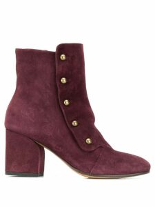 Officine Creative Lou ankle boots - Red