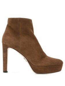 Prada heeled ankle boots - Brown