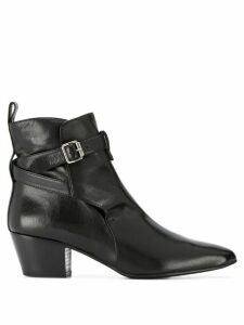 Marc Ellis buckle ankle boots - Black