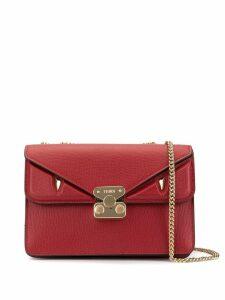 Fendi medium Bag Bugs crossbody bag - Red
