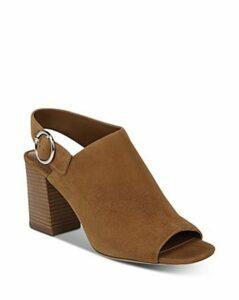 Via Spiga Women's Elma Block Heel Slingback Sandals