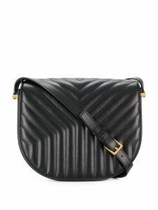 Saint Laurent Joan quilted shoulder bag - Black