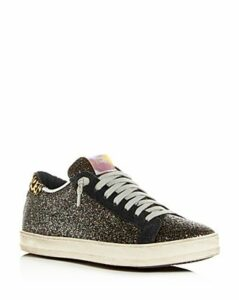 P448 Women's John Glitter Low-Top Sneakers