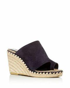 Vince Women's Sutherland Suede Wedge Sandals