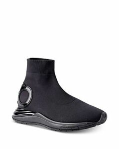 Salvatore Ferragamo Women's Gancini Sock Sneakers