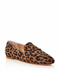 Stuart Weitzman Women's Payson Apron-Toe Loafers