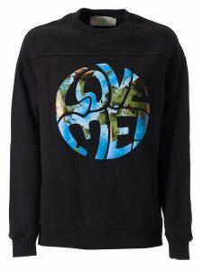 Alberta Ferretti Love Me Print Sweatshirt