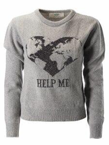 Alberta Ferretti Help Me Print Sweater