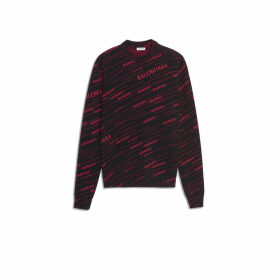 Balenciaga Long Sleeves Crewneck Print