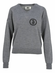 Mm6 V-neck Sweater