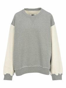 Mm6 Oversized Contrast Sweatshirt