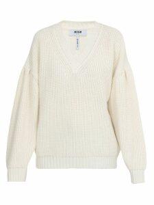 MSGM V Neckline Sweater