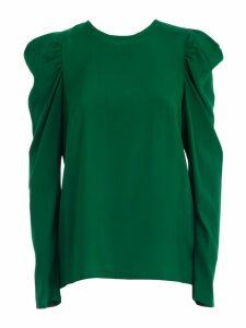 Parosh Shirt L/s W/particular Sleeve
