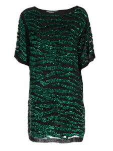 Parosh Dress S/s Tunic W/paillettes