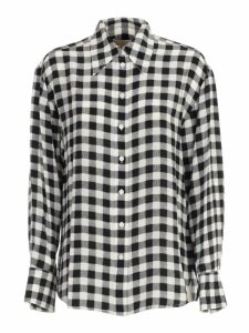 MICHAEL Michael Kors Shirt L/s Silk Check