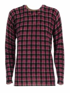 MICHAEL Michael Kors Sweater L/s Crew Neck Check Merino