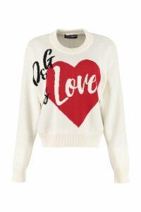 Dolce & Gabbana Intarsia Cashmere Sweater