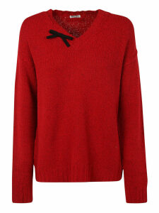 Miu Miu Distressed Sweater