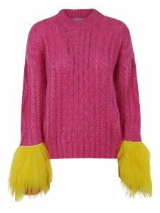 Prada Fringed Detail Sweater