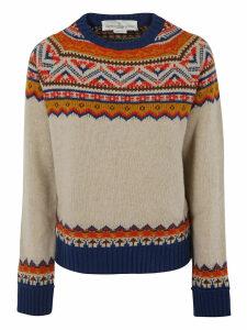 Golden Goose Round Neck Momo Sweater