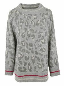Fabiana Filippi Leopard Print Sweater