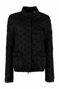 Moncler Hillary Floral Embroidered Down Jacket