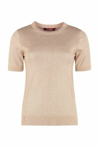 Max Mara Studio Glitter Effect Knit Top