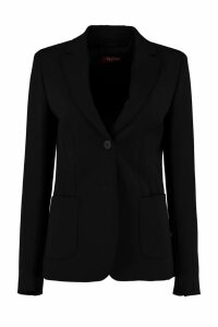 Max Mara Studio Single-breasted Two-button Blazer