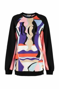 Emilio Pucci Printed Cotton Sweatshirt