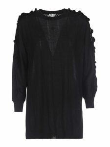 Kenzo Ruffle Trim Sweater