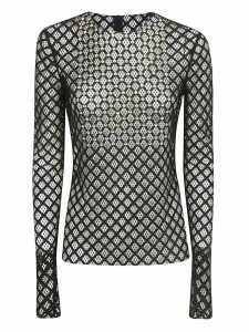 Philosophy di Lorenzo Serafini Fishnet Blouse