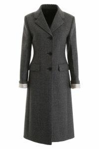 Prada Prince Of Wales Coat