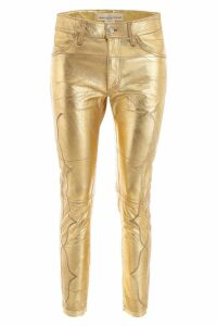 Golden Goose Leather Trousers