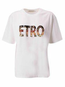 Etro Printed Logo T-shirt
