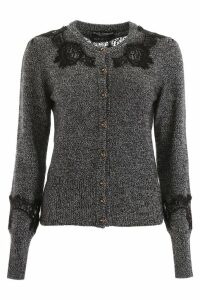 Dolce & Gabbana Cardigan With Lace Inserts