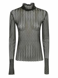 Philosophy di Lorenzo Serafini High Neck Blouse